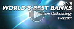 Best Banks 2015 - Selection Methodology Webinar