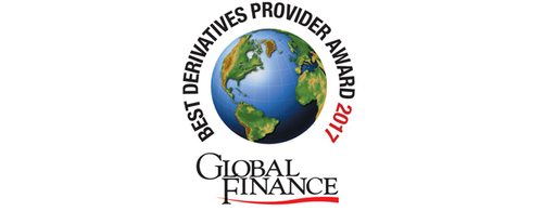 Featured image for Press Release: World's Best Derivatives Providers 2017