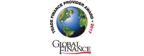 Featured image for Press Release: Worlds Best Trade Finance Provider 2017