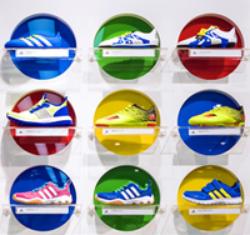 Adidas Favors Outside Track