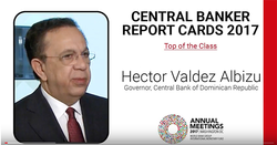 Q&A with Governor, Central Bank of Dominican Republic