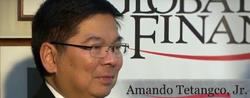 Amando Tetangco Jr. Governor of the Bangko Sentral ng Pilipinas