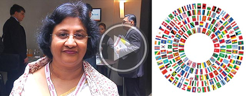 Arundhati Bhattacharya discusses the Indian marketplace