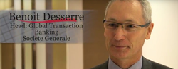Benoit Desserre, Head, Global Transaction Banking for Societe Generale
