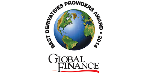 Featured image for Global Finance Names The World's Best Derivatives Providers 2014