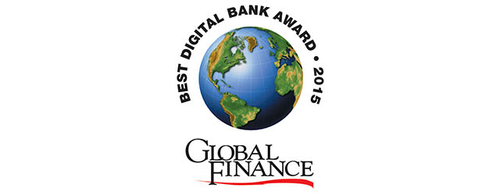 Featured image for Global Finance Names The 2015 World's Best Corporate/Institutional Digital Banks In North America