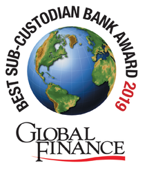 Press Release: Global Finance Names The World's Best Sub-custodian Banks 2019