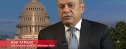Adel Al Majed, Vice Chairman and CEO, Boubyan Bank at the 2019 IMF World Bank Meetings.