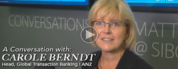 A Conversation with Carole Berndt of ANZ @ Sibos 2015