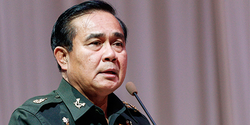 FOREIGN INVESTORS WARY OF THAI MILITARY COUP LEADER