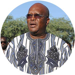 Burkina Faso's New President Has An Edge
