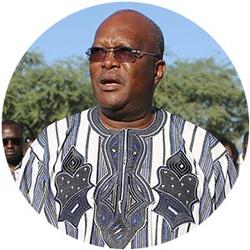 Burkina Faso's New President Has An Edge