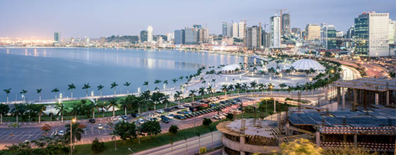 coast of african city