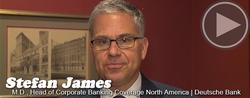 A Conversation With... Stefan James, Deutsche Bank
