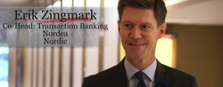 Erik Zingmark, Co-Head, Transaction Banking for Nordea