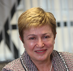 Kristalina Georgieva To Head The IMF
