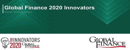 Featured image for Global Finance Names The 2020 World's Best Innovators