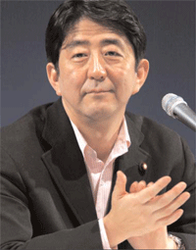 Shinzo Abe Leads Race To Be Next Prime Minister 1