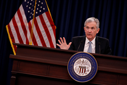 Powell Takes Over Fed With Rates Rising