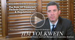 The Role of Treasurers, FinTech Opportunities & Regulations