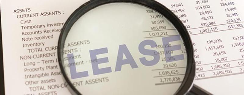 lease on balance sheet