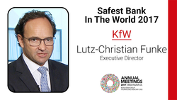 KfW 'World's Safest Bank' for 2017