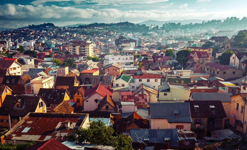 City of Antananarivo, Madagascar