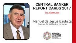Q&A with Manuel Jesus Bautista, Governor Central Bank of Honduras