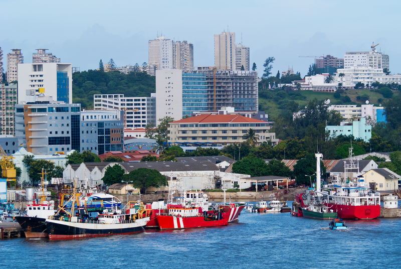 City Of Maputo In Mozambique