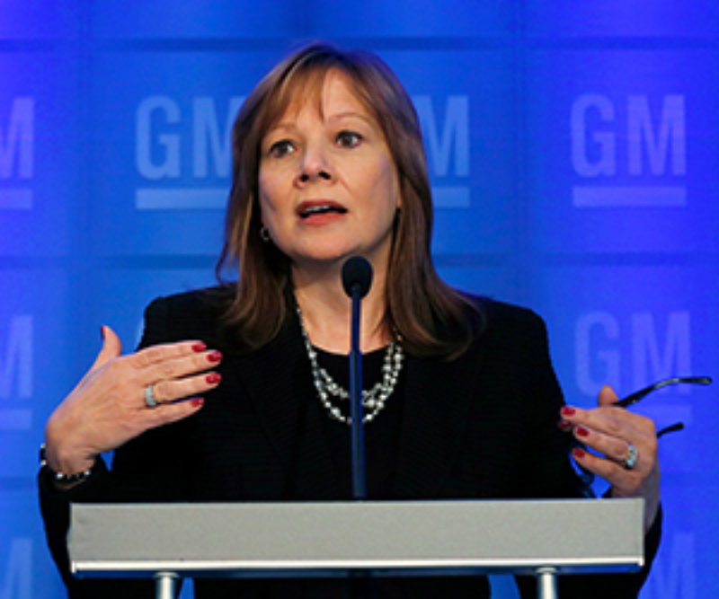 GM's New Female CEO-CFO Team Unusual In Corporate World