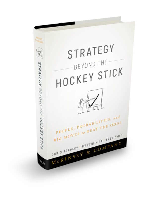 McKinsey Strategy Beyond the Hockey Stick book cover
