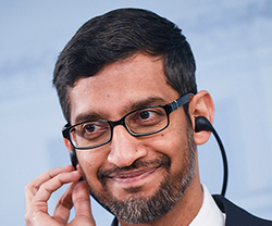 Google Founders Turn To Pichai—Again