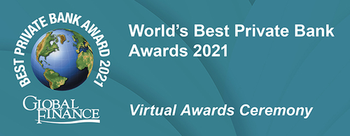 Featured image for Global Finance's Private Bank Awards 2021 Virtual Awards Ceremony
