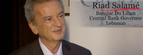Riad Salamé, Central Bank Governor for Lebanon