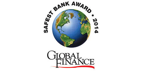Featured image for Global Finance Names The World's Top 50 Safest Banks 2014