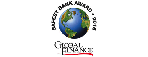 Featured image for Global Finance Names The World's 50 Safest Banks 2015