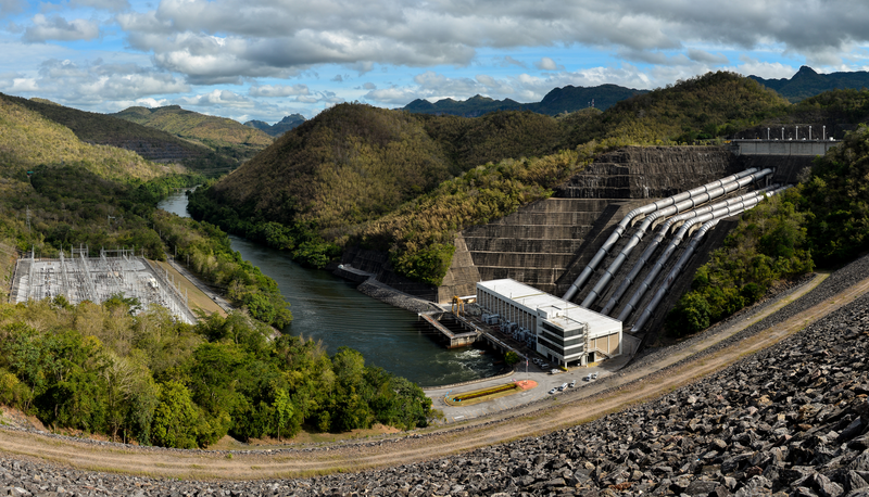 south american dam for main story