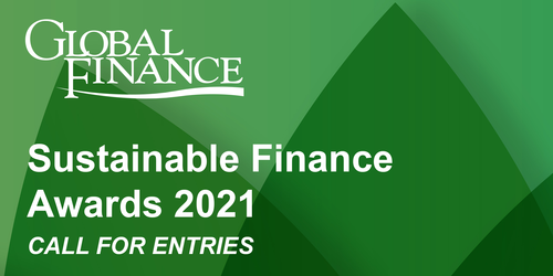 Featured image for Sustainable Finance Awards 2021 - Corporates