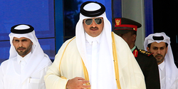 YOUNG QATARI EMIR TAKES GLOBAL SPOTLIGHT