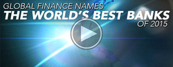 The World's Best Banks of 2015 - Announcement