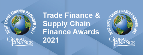 Featured image for Global Finance's Best Trade Finance and Supply Chain Finance Awards 2021 Virtual Awards Ceremony