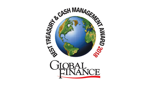 Featured image for Global Finance Names The World's Best Treasury & Cash Management Banks And Providers 2018