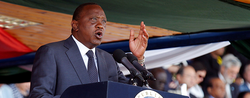 Kenyatta Reelected Kenya's President Amidst Protests