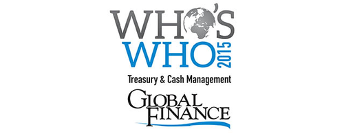 Featured image for Global Finance Names The Who's Who In Treasury & Cash Management 2015