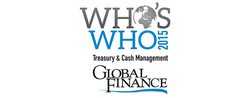 Global Finance Names The Who's Who In Treasury & Cash Management 2015