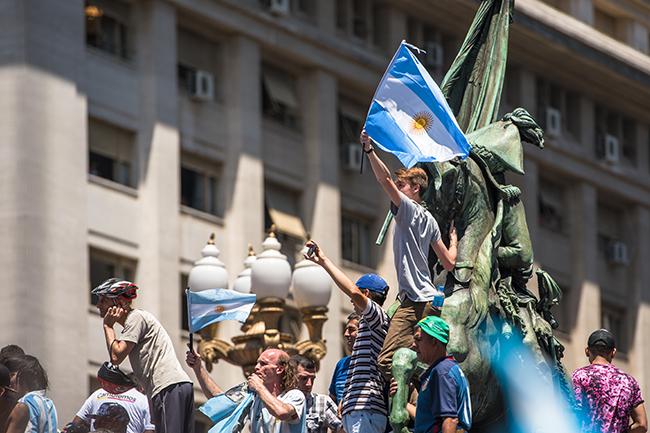argentina macri supporters