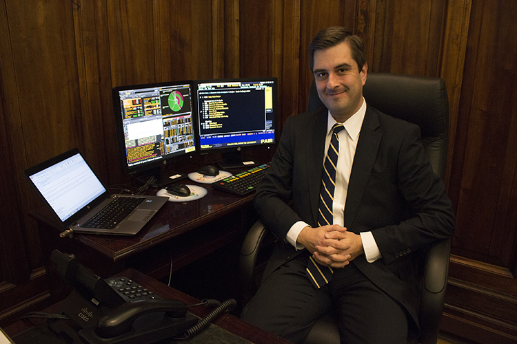 Banco de Chile chief economist Rodrigo Aravena