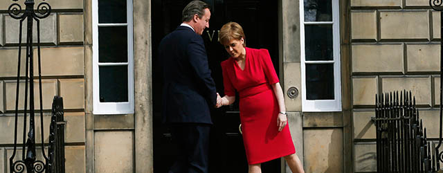 David Cameron and Nicola Sturgeon: an uncomfortable alliance
