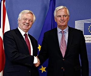 David Davis and Michael Barnier 300