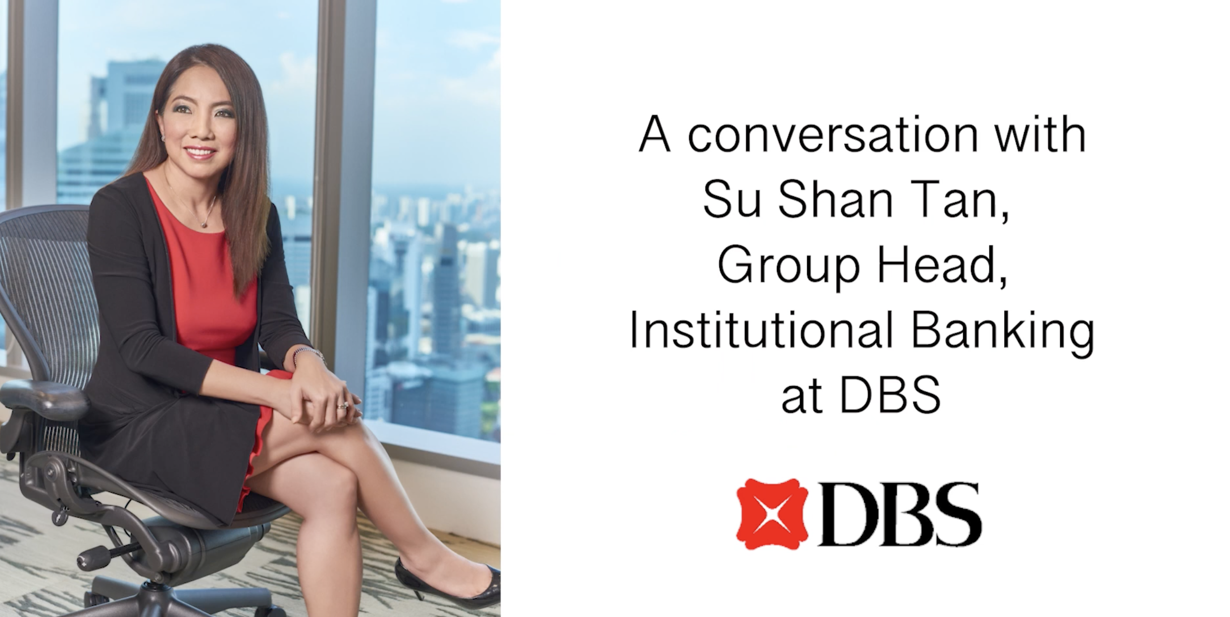 Embedding sustainability into DBS's culture